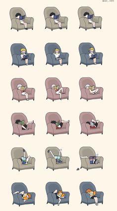 각자 책 읽는 방법