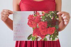 FOTOGRAFIA Fine Art NATURA e FIORI d'estate di BrightSpotOfColour, €22.00