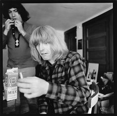 Phil Lesh and Jerry Garcia c.1966 710 Haight-Ashbury SF