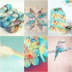 Mood Board Monday - Hummingbird from Tanis Fiber Arts