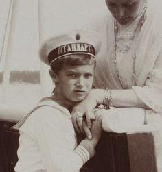 Alexei & Alexandra onboard the Standart