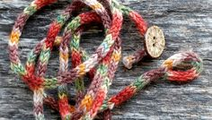 Rustic Mini I Cord Wrap Bracelet 20 Length par TheSittingTree