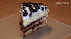 Citrónovo-čučoriedková torta (videorecept) - Recept