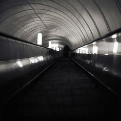 Moscow - Subway Escalator