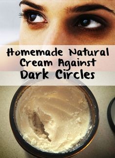 Dark circles are an affection easily to observe. The main reason of their apparition is tiredness and sleep deprivation. Try this natural cream!