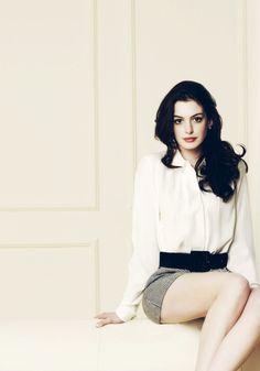 Anne Hathaway...So poised and elegant as always.