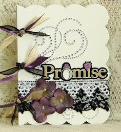 Weddbook ♥ Wedding guest book - promise