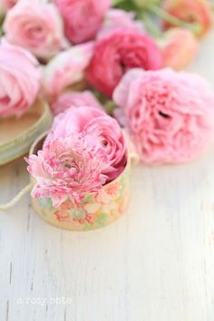 A Rosy Note: May Flowers