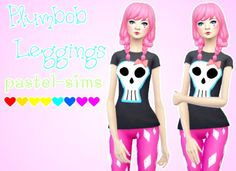Plumbob Leggings at Pastel Sims via Sims 4 Updates  Check more at http://sims4updates.net/accessories/plumbob-leggings-at-pastel-sims/