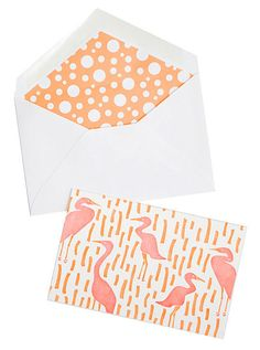 This heron card set ($18) is perfect for Spring!