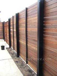 25 Amazing Modern Wood Fence Design Ideas for 2019 - Zaun