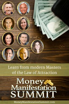 Join the Summit to learn from modern masters of the how to & and Law Of Attraction Money, Modern Masters, Numerology, Page Design, Abundance, Wealth, Join, Social Media, Graphic Design