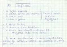 MUFFINS   #DULCE #MASAS #QUEQUE #HARINA