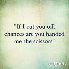 Thanks for the scissors!