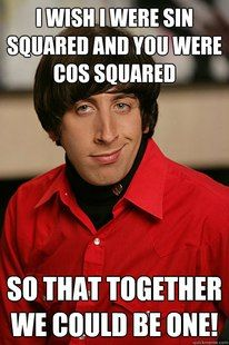 Oh the Big Bang Theory and your math & science jokes