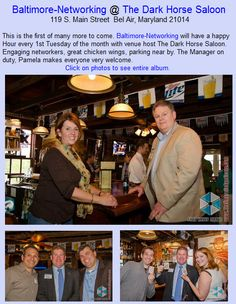 Baltimore-Networking @ The Dark Horse Saloon, 119 S. Main Street  Bel Air, Maryland 21014
