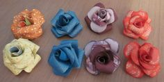 CropChocolateDesigns: STEP 5 PETAL PUNCHED FLOWERS INTO ROSE
