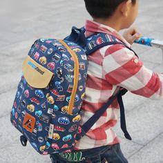 Aresland New Printing Canvas Backpack Rucksack Kindergarten School Student Bag for Boys Girls Kids Children Toddlers #women, #men, #hats, #watches, #belts, #fashion, #style