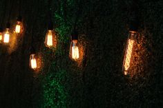 The rustic wedding ceremony trend is always looking successful, so every single day I see even more unique projects and inspiration floating around the world. Antique Light Bulbs, Infinity Lights, Wedding Background Images, Magical Wedding, Wedding Places, Hd Backgrounds, Wedding Album, Vintage Lighting, Wedding Trends