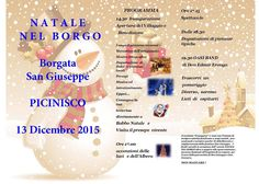 Natale nel borgo...a Picinisco fraz. San Giuseppe...