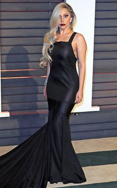 Oscars 2015 Style: Vanity Fair Party   Lady Gaga   EW.com