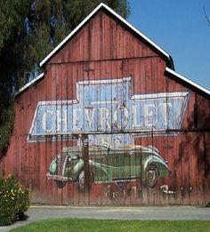 Chevrolet barn