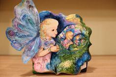 "Colaboración ""Primavera con Arte""  Burbujas  ( Josephine Wall) - Cake by Anna Bonilla"