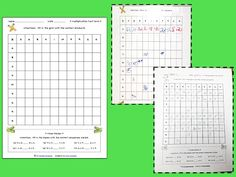 This freebie is reason one million and one why I love the blogging world! Dana over at Third Grade Gridiron  posted a free multiplication ma...
