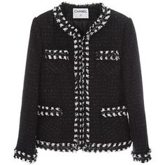 Chanel 2010 Tweed Cropped Jacket