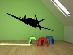 Giant Airplanes Vinyl Wall Art - Decal, Sticker, Vinyl, Wall, Home - Multi-colors to chose from