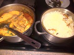 u guessed right, Chicken curry and rice for dinner...