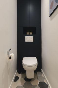 Appartement Boulogne Billancourt : 63 pour famille nombreuse A second life for the toilet of the apartment