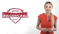 Orosz Cintia, a Napos Oldal műsorvezetője