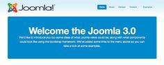 Joomla 3.0 is here by Anthony Olsen