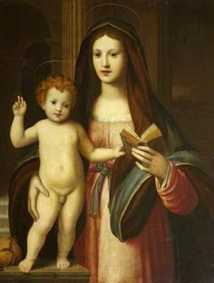 Madonna and Child with a Pomegranate,  c.1525 by Italian (Florentine) School
