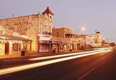 Enjoy the beautiful weekend weather shopping, dining, wine tasting and more in beautiful Fredricksburg, Texas!
