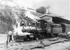 Mandaqui train station in 1956, Sao Paulo - Brazil