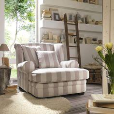 Ambia Möbel megasofa in hellblau textil