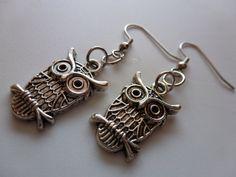 Silver Owl Earrings: https://www.etsy.com/listing/110328907/silver-owl-earrings