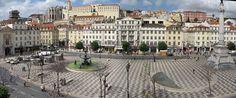 A Calçada Portuguesa,Rossio, em Lisboa. Via Wikipédia