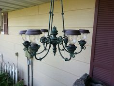 Repurposed chandelier