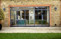 Steel windows bring industrial style to domestic extension – Design Buy Build