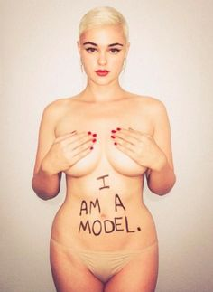 """23-year-old Australian model Stefania Ferrario refuses to be classed as a """"plus-size"""" model just because she has curves. Drop The Plus!"""