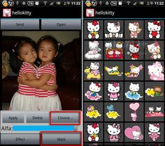 "「Hello Kitty Camera」""敲可愛""相機~(Android)"