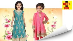 TOP 10 LATEST dresses for girls KIDS wear in amazon shopping FASHION TRENZ Indian Dresses For Kids, Latest Dress For Girls, Dress Designs For Girls, Dresses Kids Girl, Toddler Girl Outfits, Designer Baby Clothes, Designer Dresses, Cheap Baby Clothes, Baby Outfits Newborn