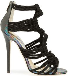 Jimmy Choo 'Kalmar' Braided Rope Sandals