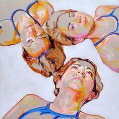 Insônia, original Body Acrylic Painting by Cristina Troufa Art And Illustration, Illustrations, Portraits, Portrait Art, Cristina Troufa, Arte Inspo, Contemporary Art Artists, A Level Art, Hanging Art