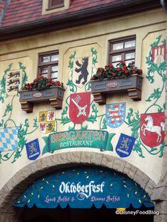 Epcot's German Biergarten Where the Party Never Stops