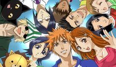 Bleach!! I miss this show sooo much :,( I wish I could watch it with out crying.... I hope I can some day...