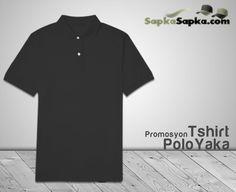 Promosyon Polo Yaka T-shirt Siyah
